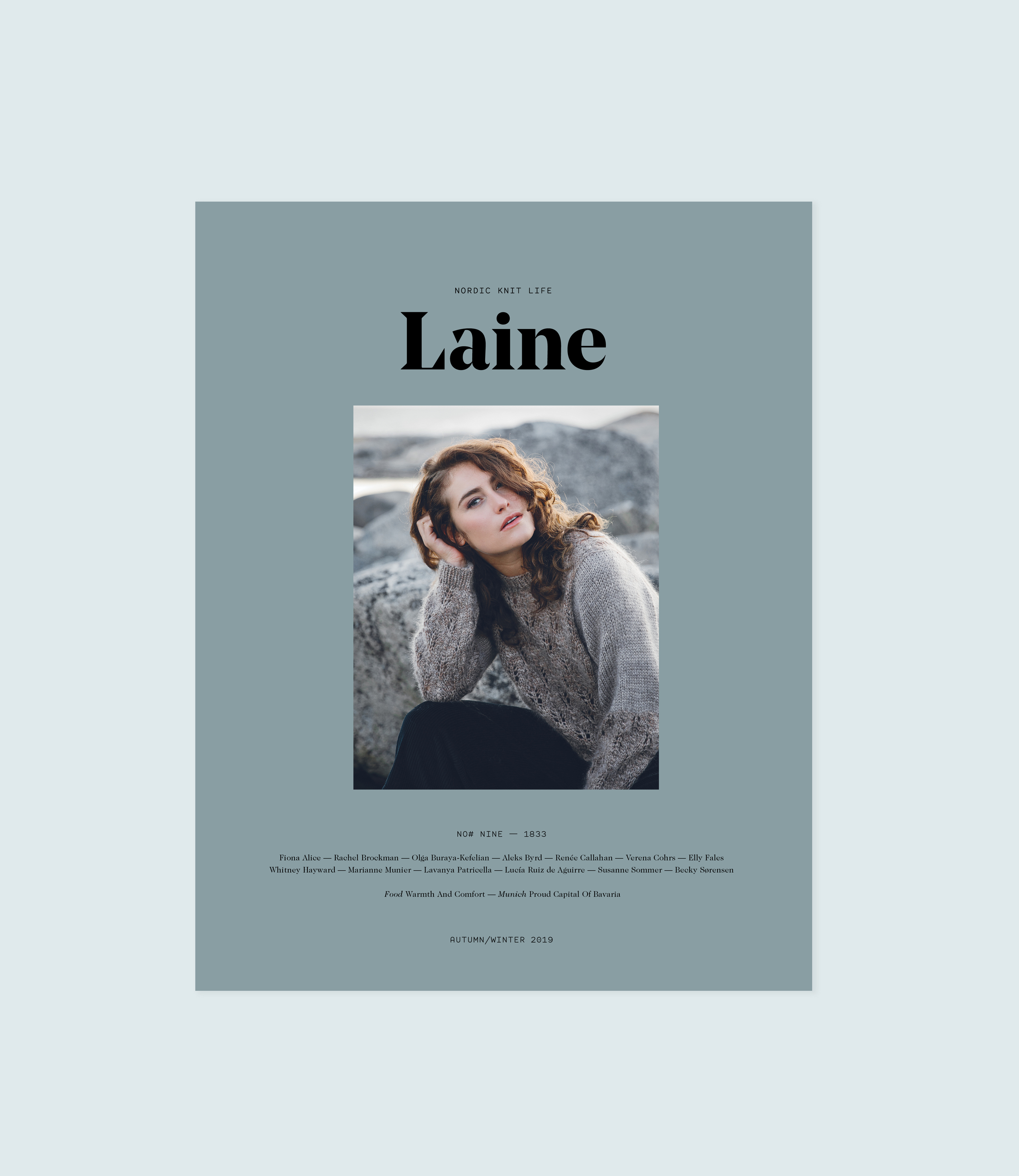 Laine Magazine cover