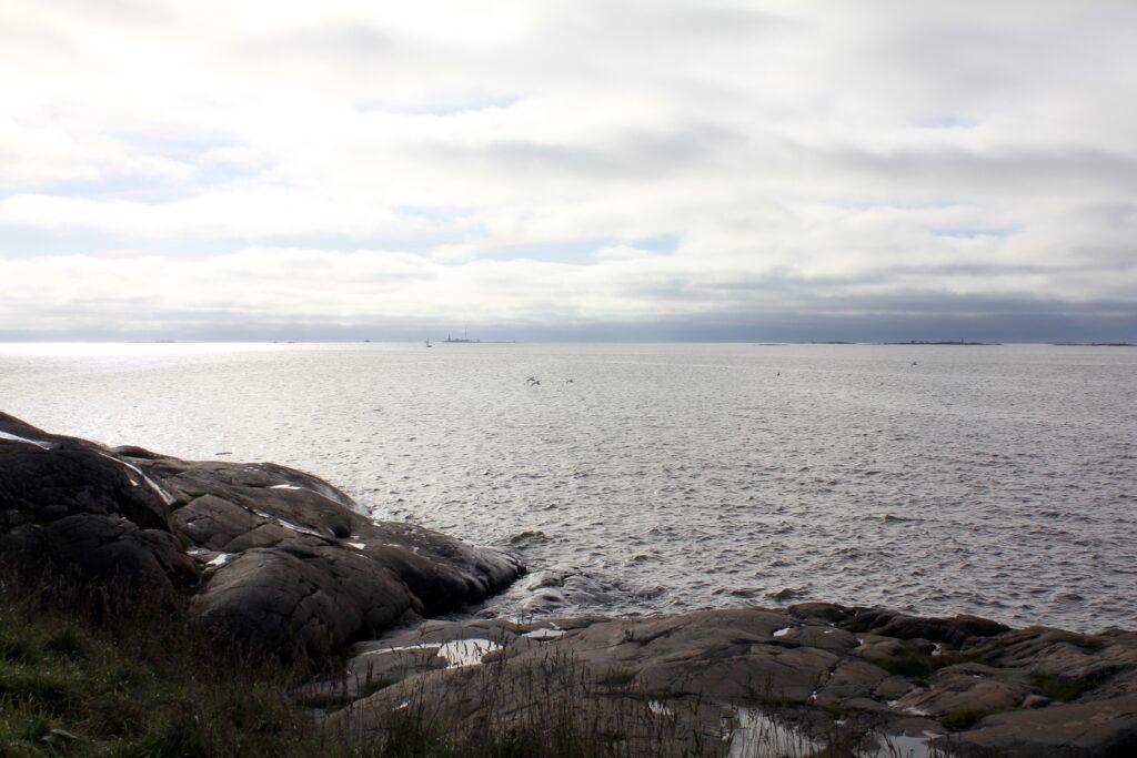 Merimaisema Suomenlinnassa