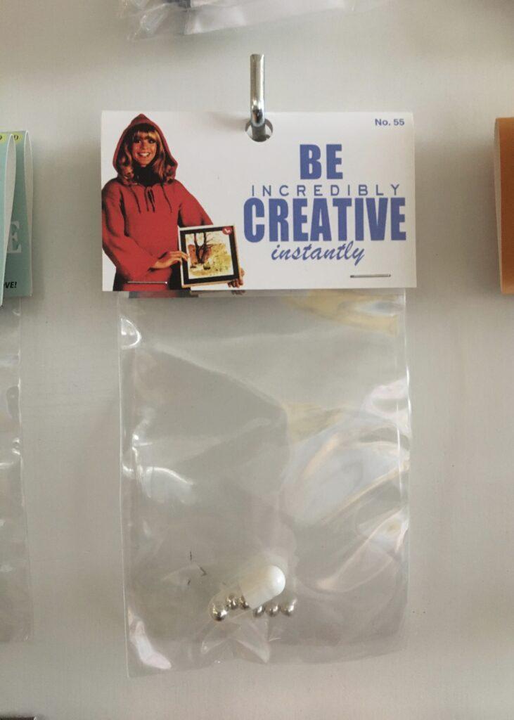 pussillinen luovuutta