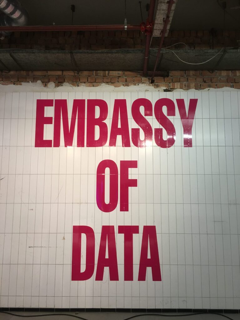 Embassy of Data