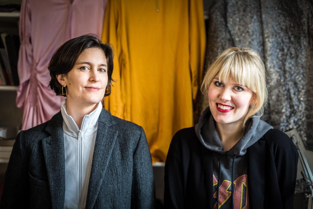 Laura Juslin ja Lilli Maunula