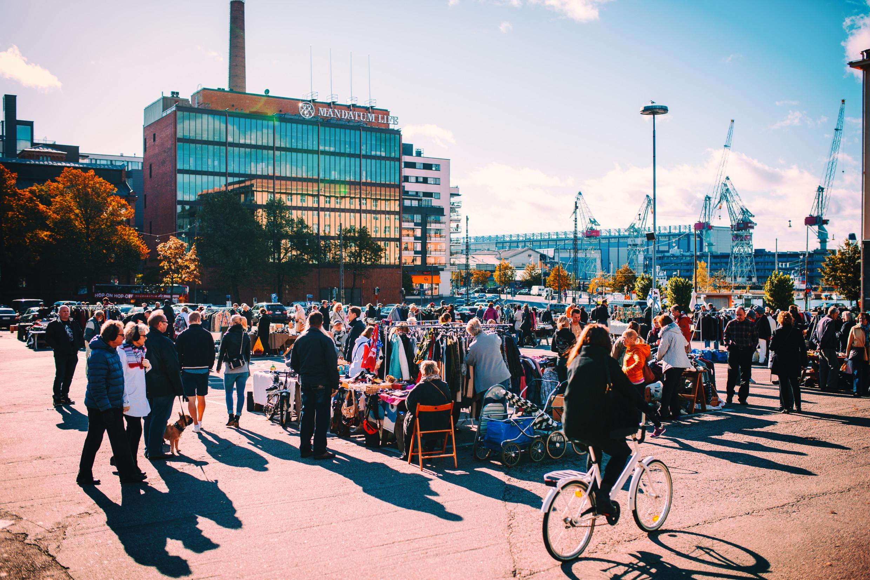 Hietalahti flea market