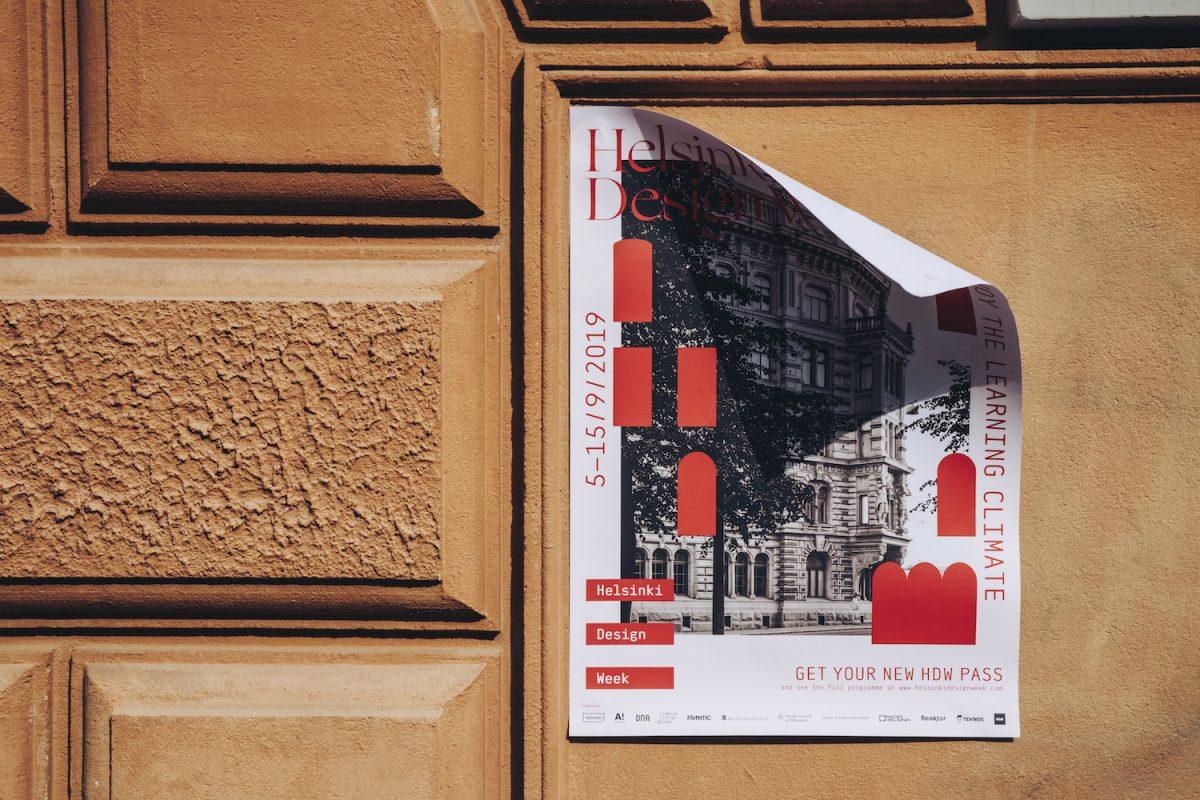 Helsinki Design Week 2019 poster