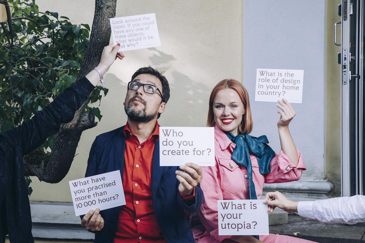 Design Diplomacy 2019 - Minna Parikka and Matteo Ragni