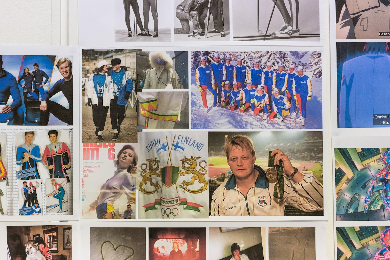 Fashion designer Rolf Ekroth's studio