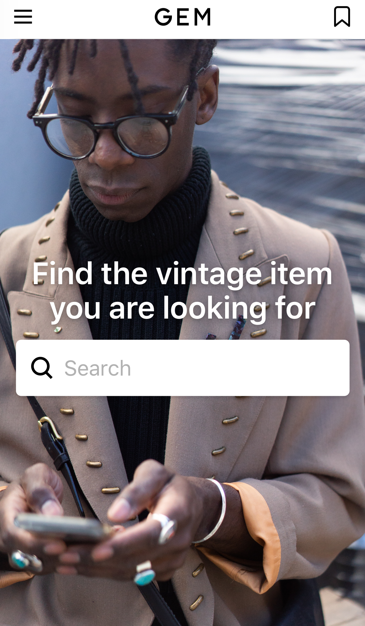 Gem Vintage Clothing app