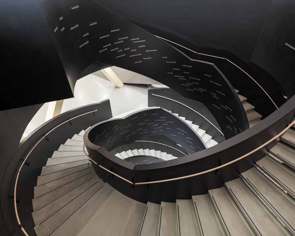 Staircase at Oodi