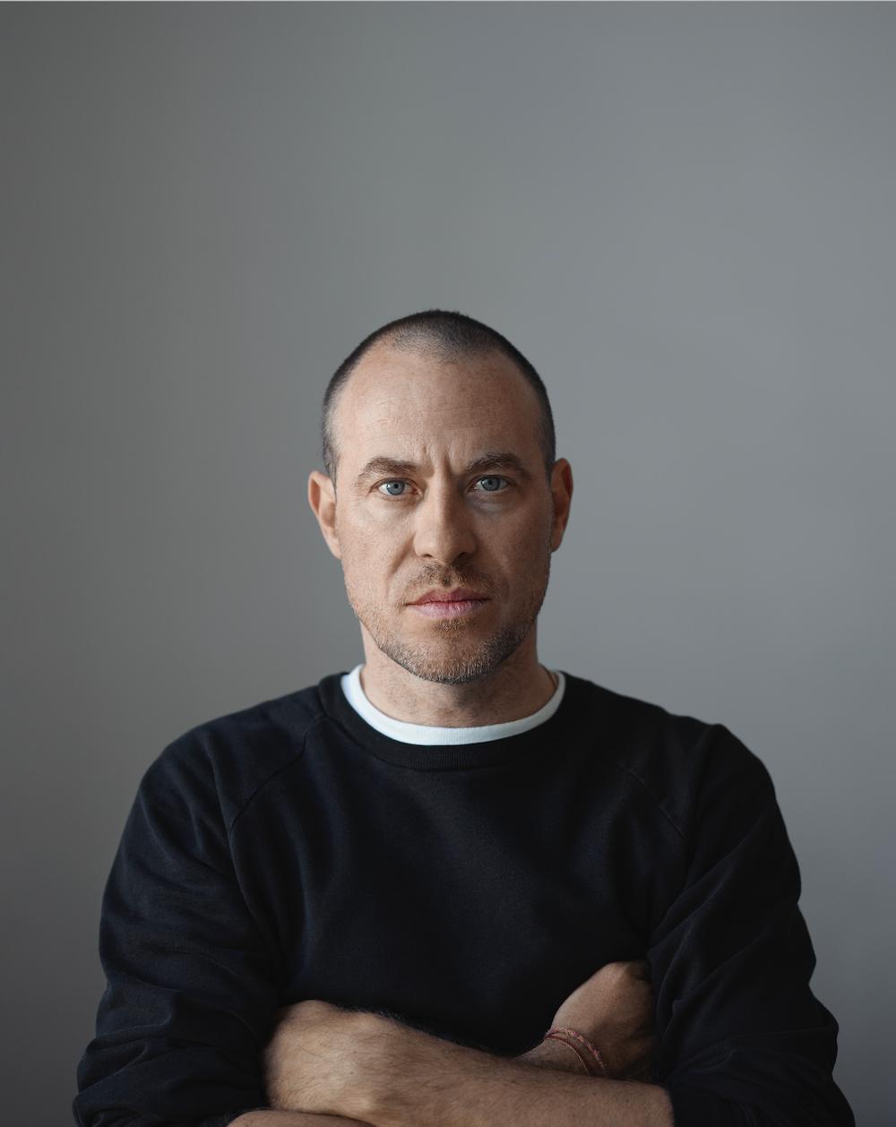 Portrait of Mirko Borsche.